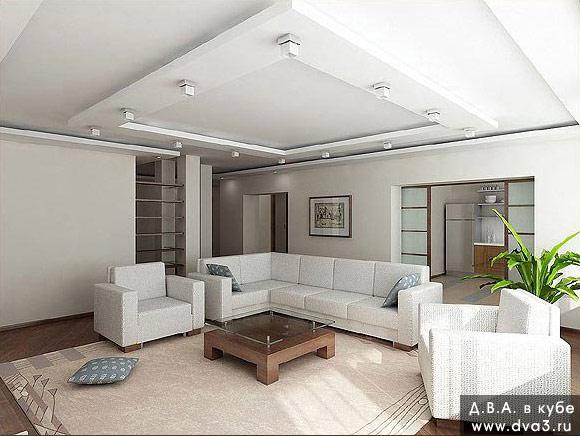 Фото дизайн обычных квартир