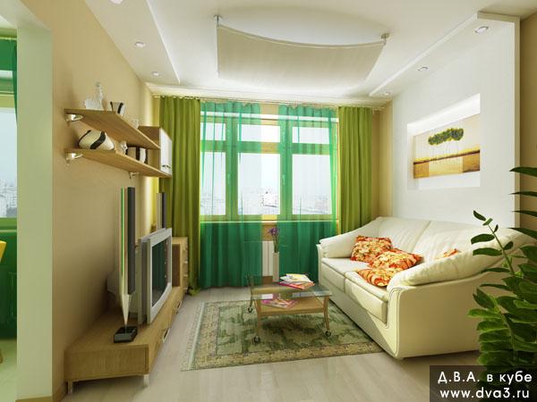 Дизайн квартиры в доме п 44