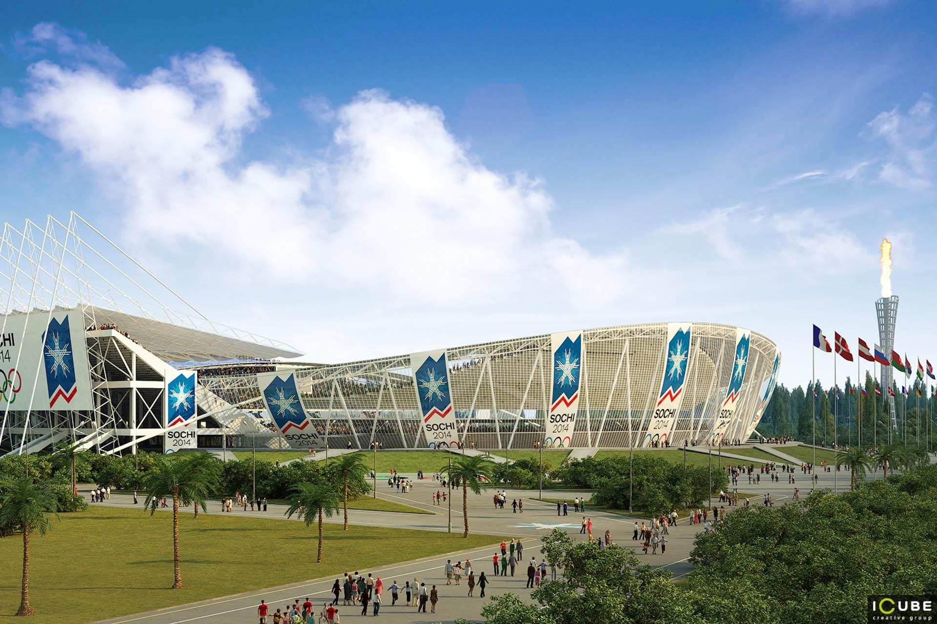 олимпийский стадион москва карта